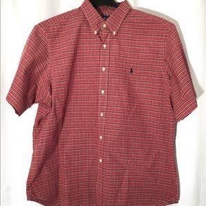 Ralph Lauren Plaid Shirt - Red